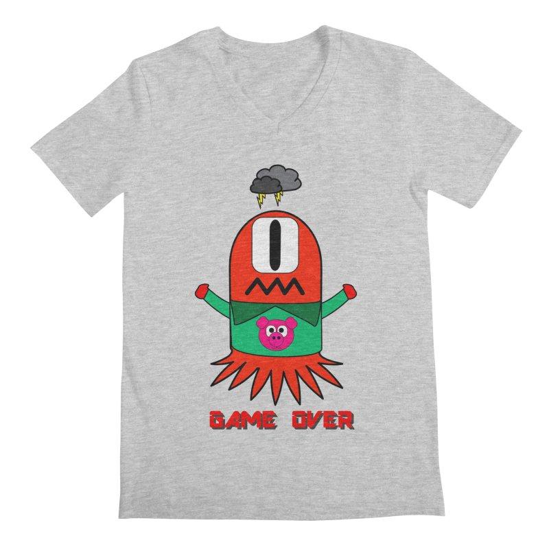 Game over Men's Regular V-Neck by Mirabelle Digital Art shop