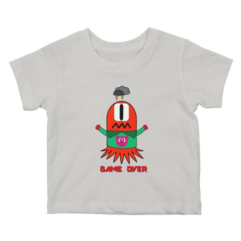 Game over Kids Baby T-Shirt by Mirabelle Digital Art shop