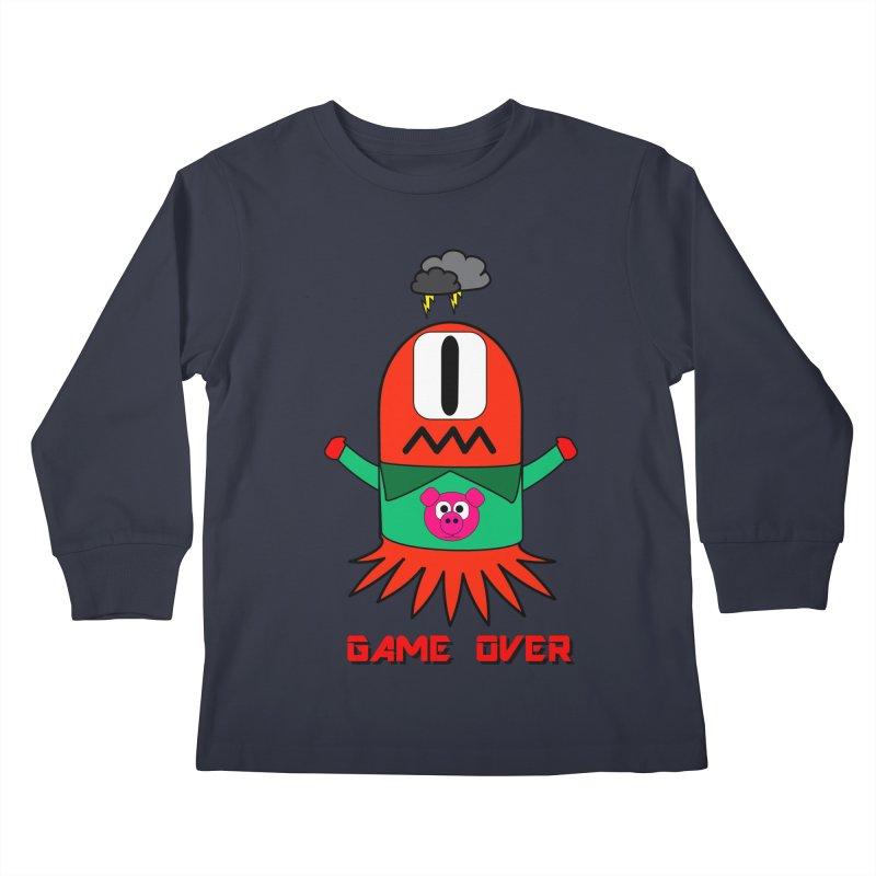 Game over Kids Longsleeve T-Shirt by Mirabelle Digital Art shop