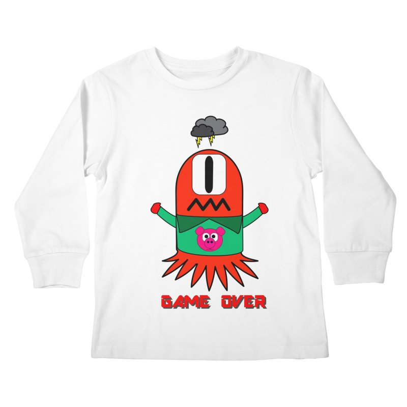 Game over Kids Longsleeve T-Shirt by Mirabelle Digital Art shop