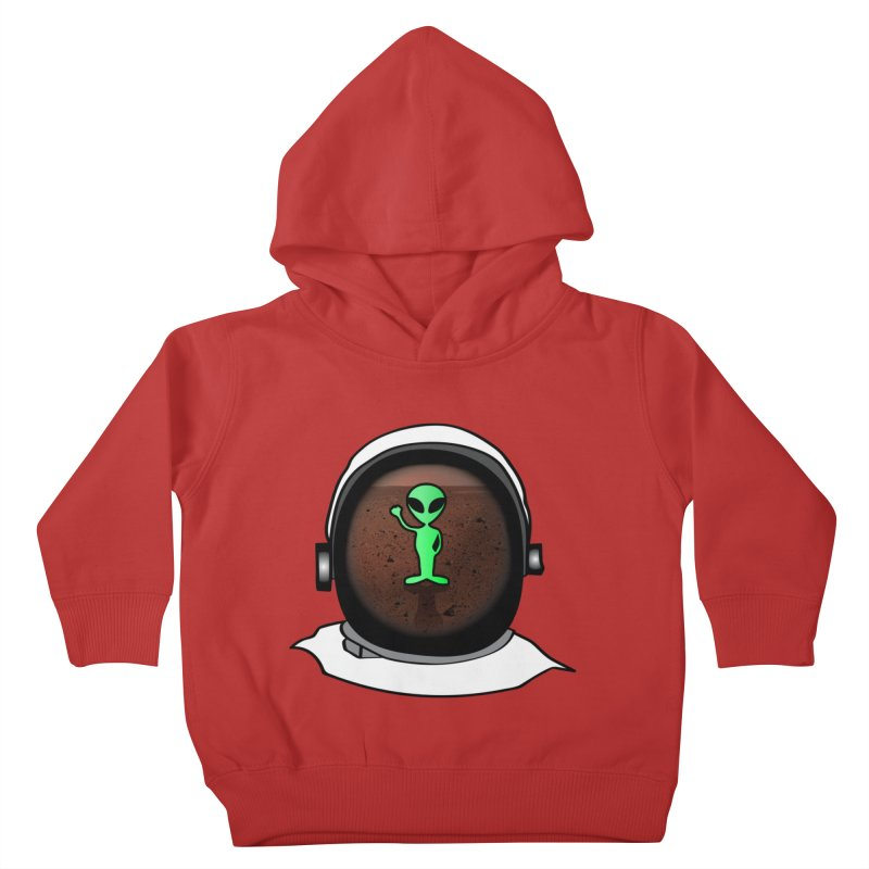 Hi nice to meet you earthling! Kids Toddler Pullover Hoody by Mirabelle Digital Art shop