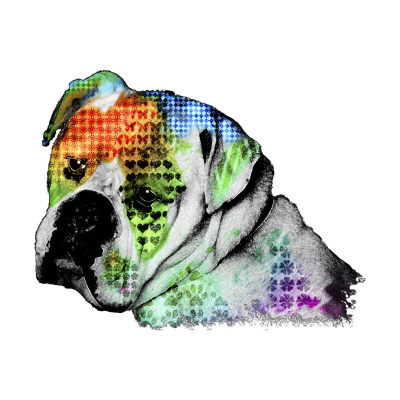 Bulldog by Mirabelle Digital Art shop