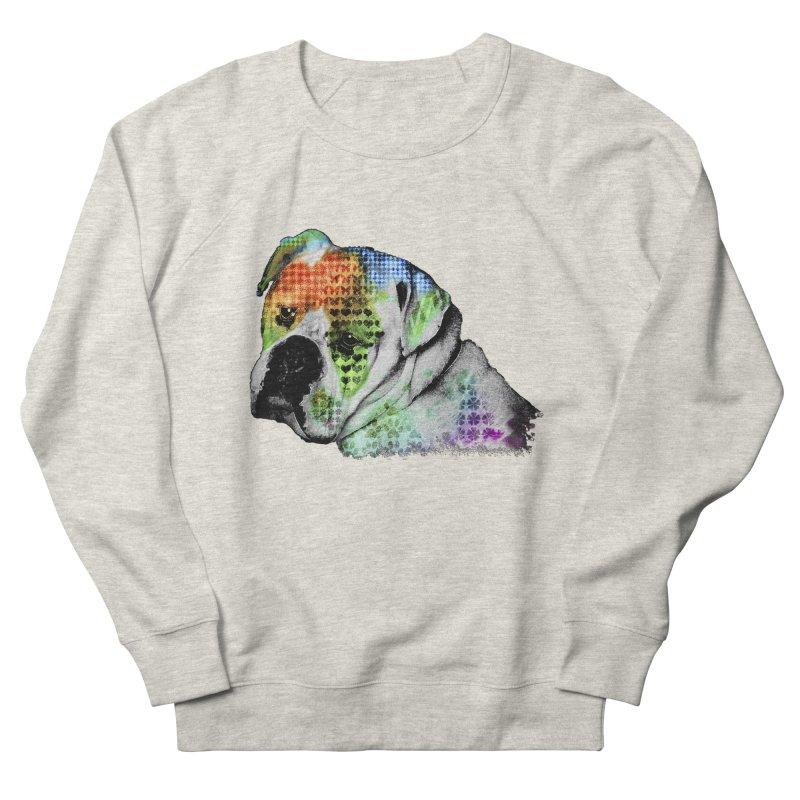 Bulldog Men's Sweatshirt by Mirabelle Digital Art shop