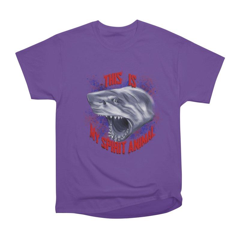 My Spirit Animal Women's Heavyweight Unisex T-Shirt by Ben Mirabelli
