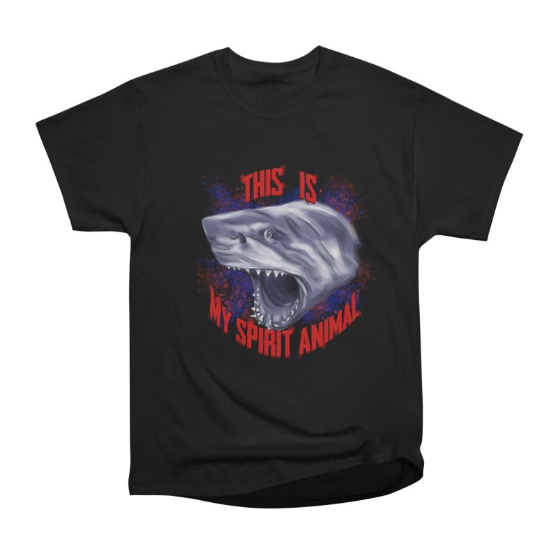 My Spirit Animal Men's Heavyweight T-Shirt by Ben Mirabelli
