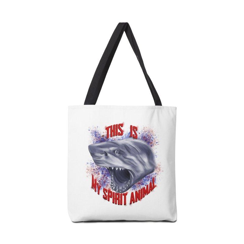 My Spirit Animal Accessories Tote Bag Bag by Ben Mirabelli