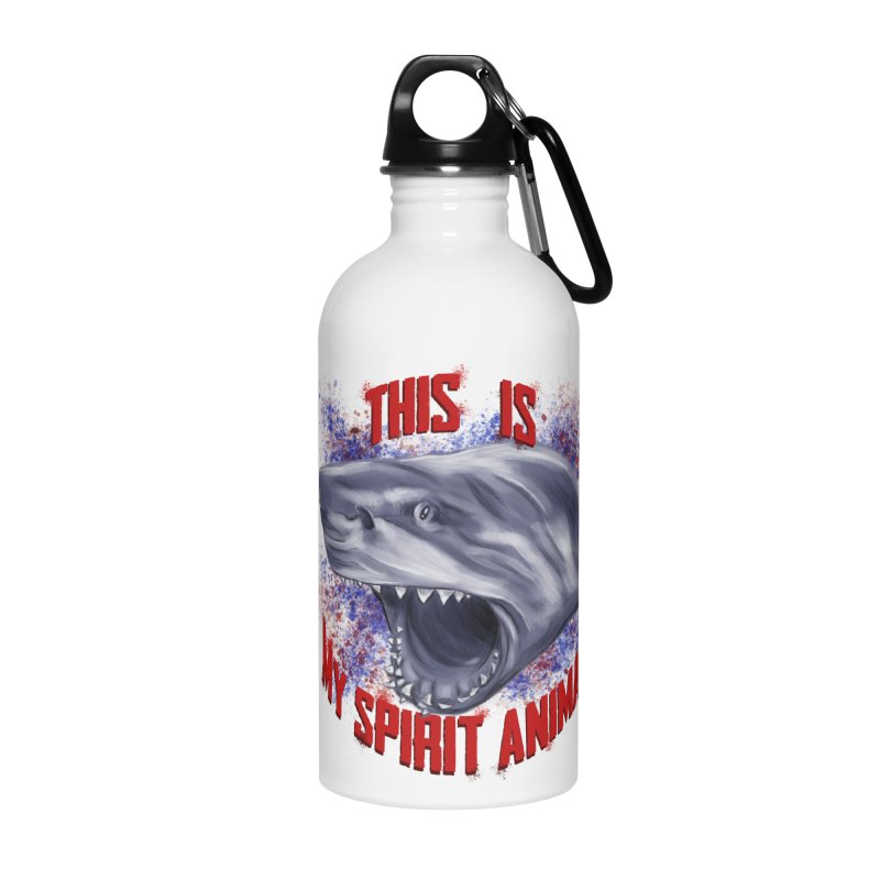 My Spirit Animal Accessories Water Bottle by Ben Mirabelli