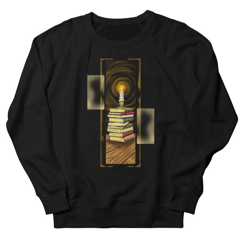 Books Women's French Terry Sweatshirt by Ben Mirabelli