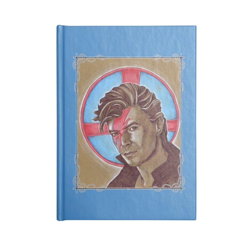 Starman Accessories Blank Journal Notebook by Ben Mirabelli