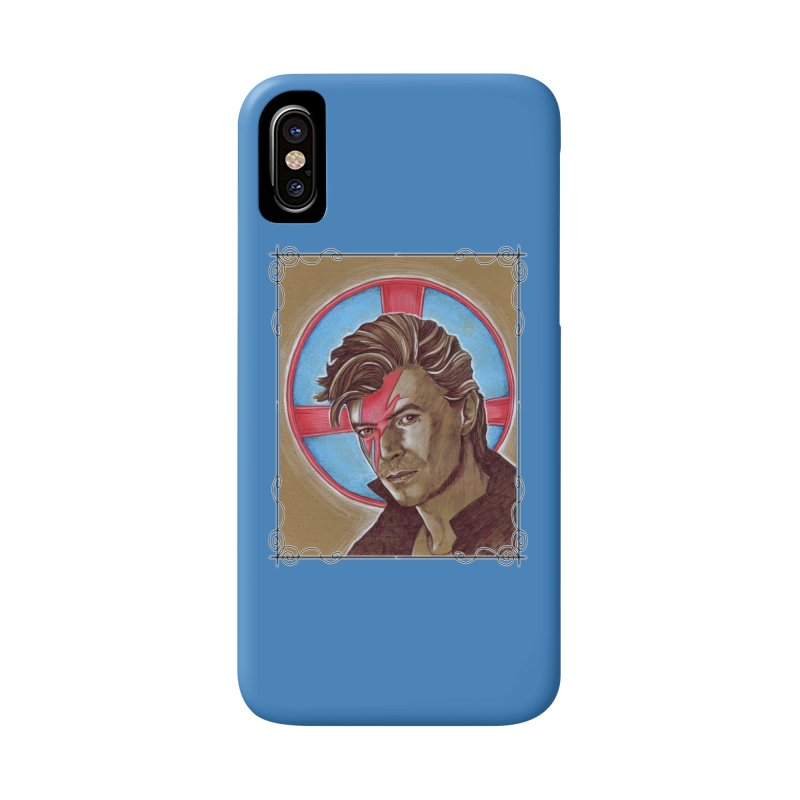 Starman Accessories Phone Case by Ben Mirabelli