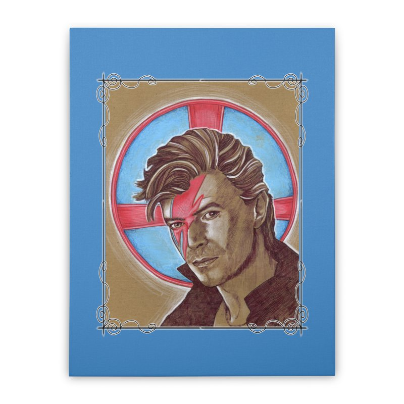 Starman Home Stretched Canvas by Ben Mirabelli