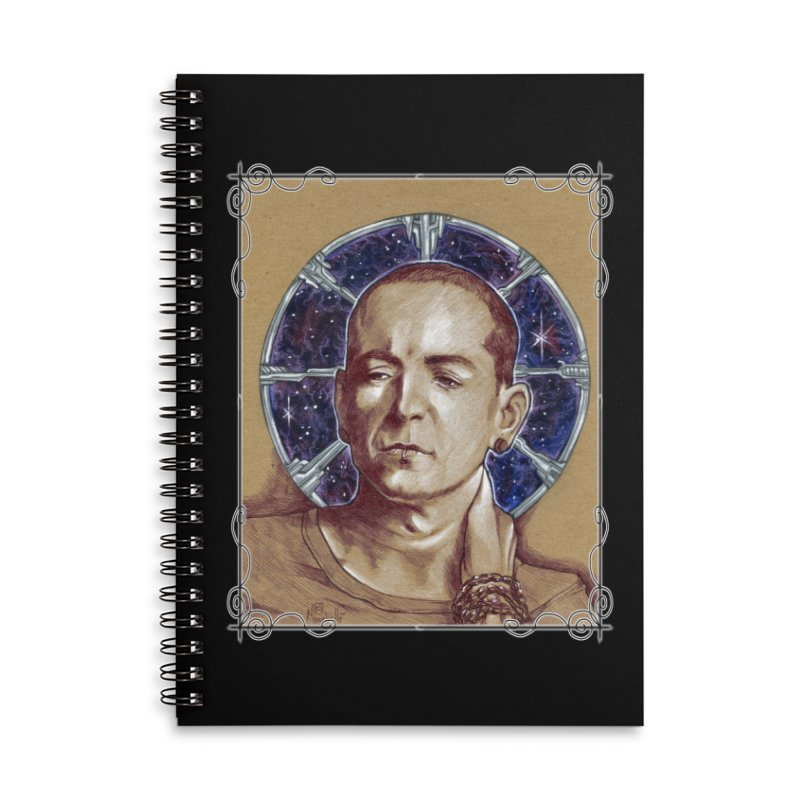 Chester Accessories Lined Spiral Notebook by Ben Mirabelli