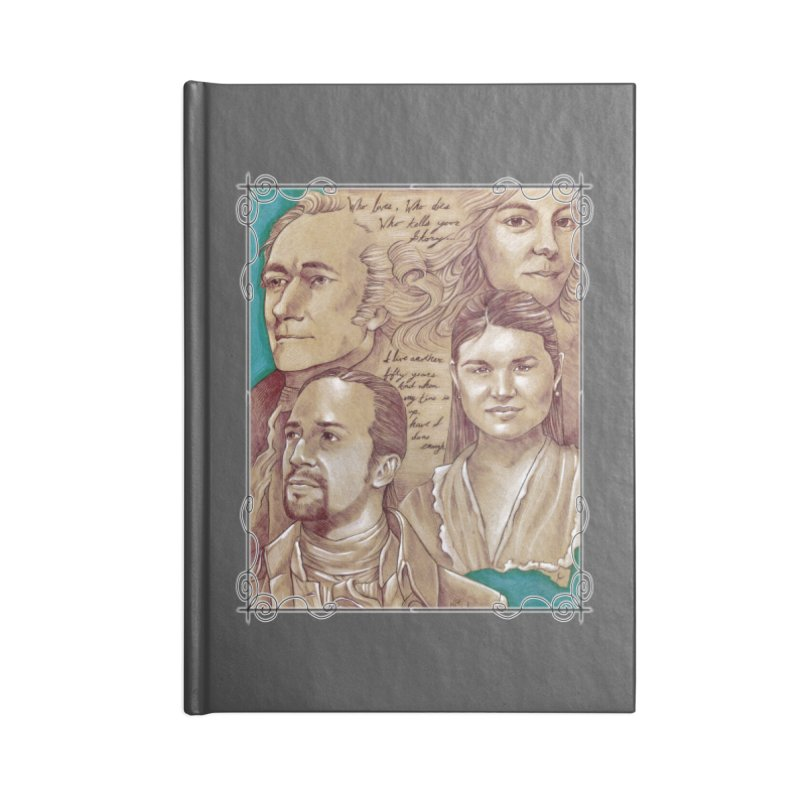 Who lives, who dies, who tells your story... Accessories Blank Journal Notebook by Ben Mirabelli