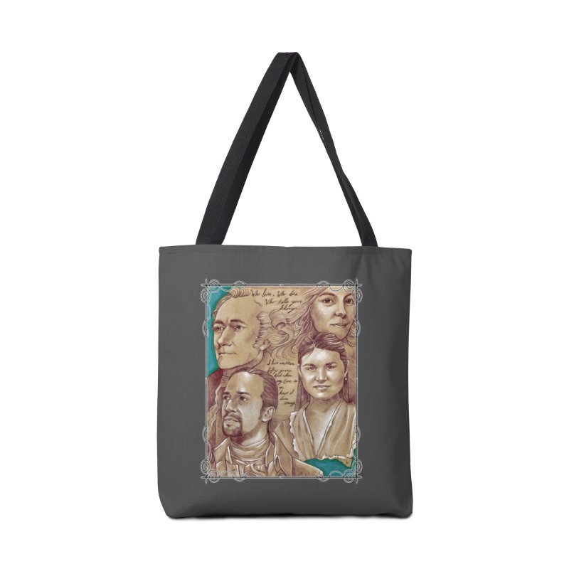 Who lives, who dies, who tells your story... Accessories Tote Bag Bag by Ben Mirabelli