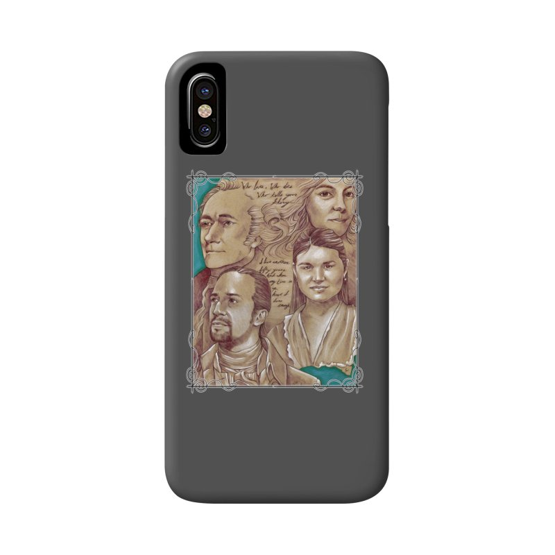 Who lives, who dies, who tells your story... Accessories Phone Case by Ben Mirabelli