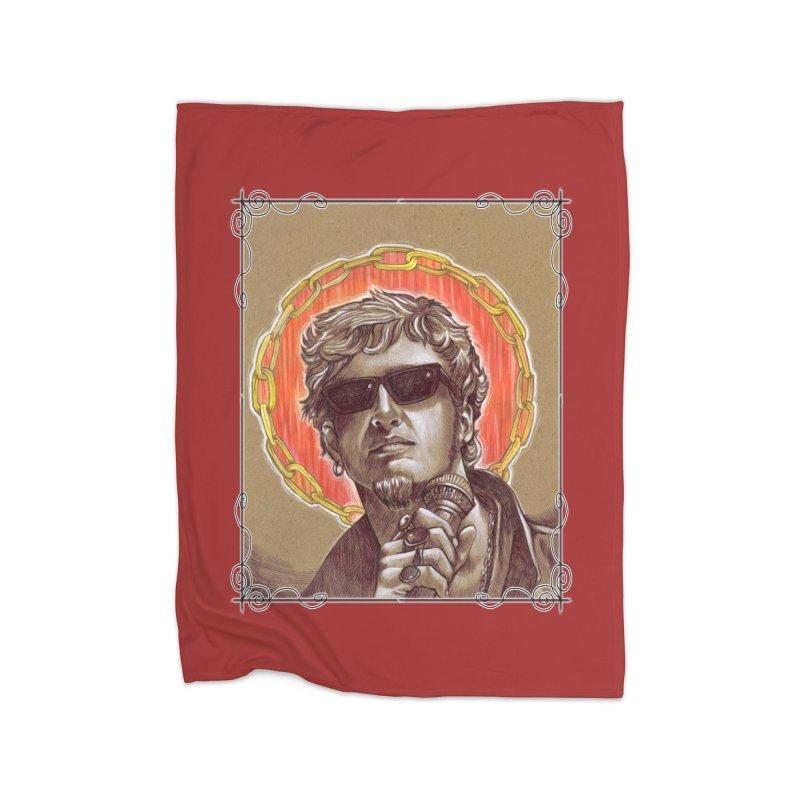 Layne Home Fleece Blanket Blanket by Ben Mirabelli