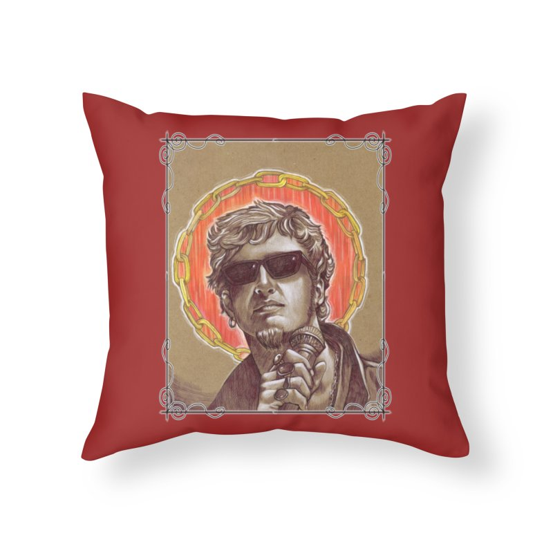 Layne Home Throw Pillow by Ben Mirabelli