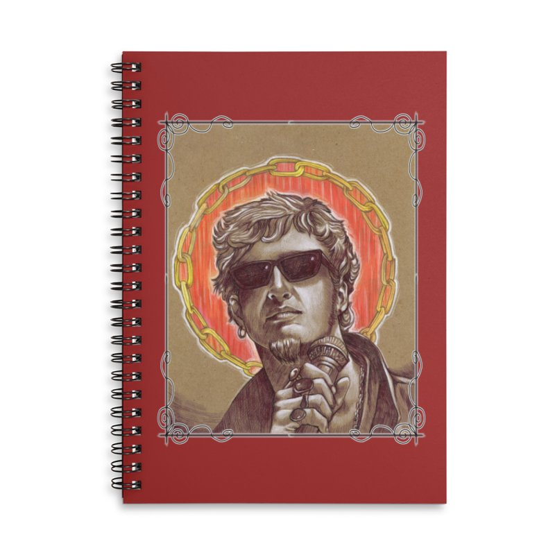 Layne Accessories Lined Spiral Notebook by Ben Mirabelli