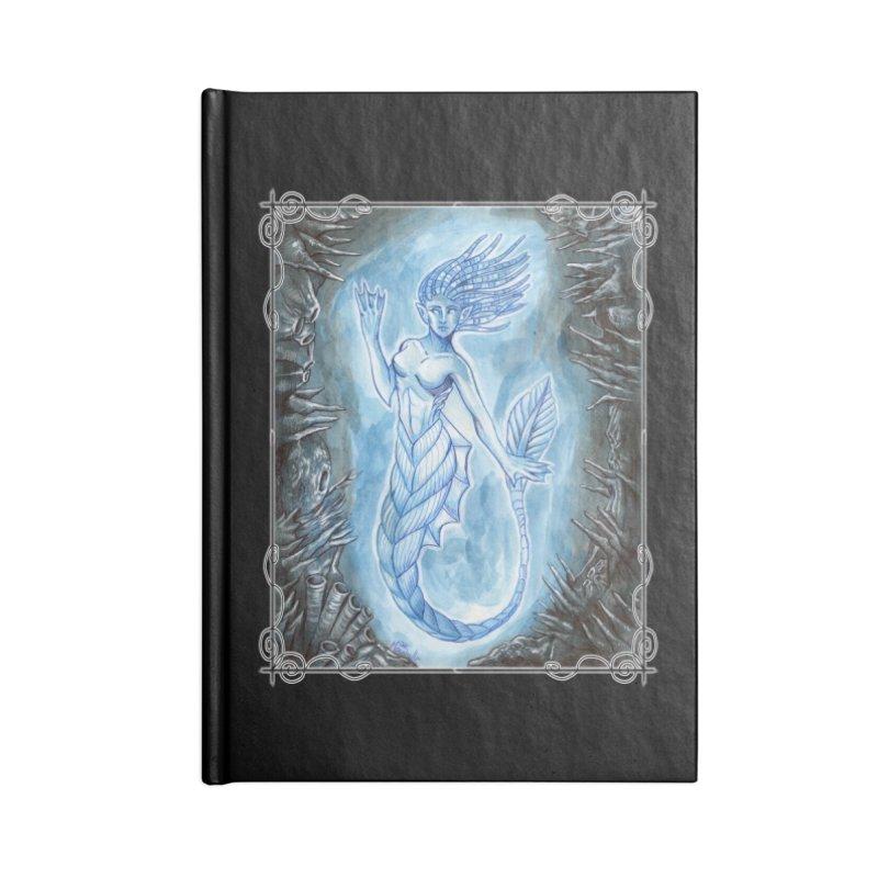 Deep Sea Mermaid Accessories Blank Journal Notebook by Ben Mirabelli