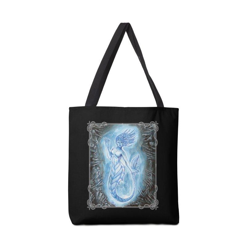 Deep Sea Mermaid Accessories Tote Bag Bag by Ben Mirabelli