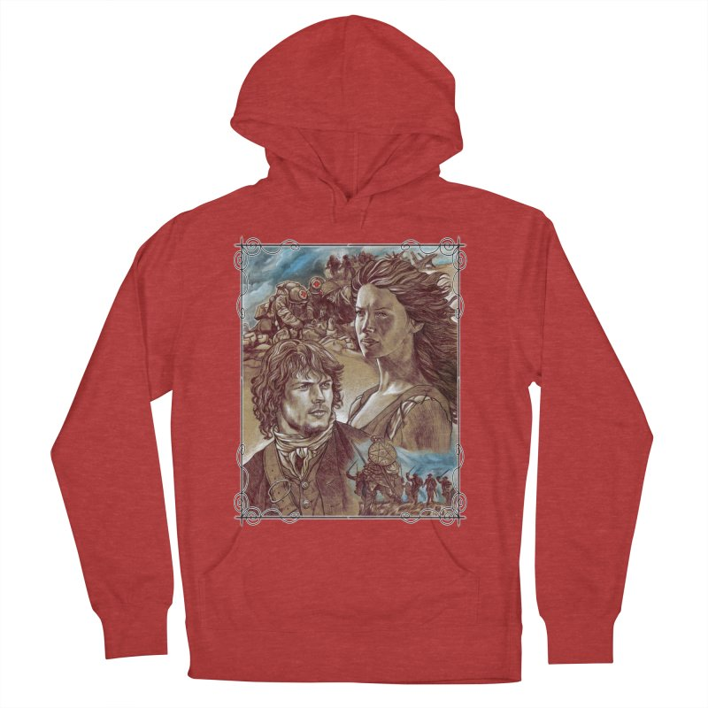 Outlander Women's French Terry Pullover Hoody by Ben Mirabelli