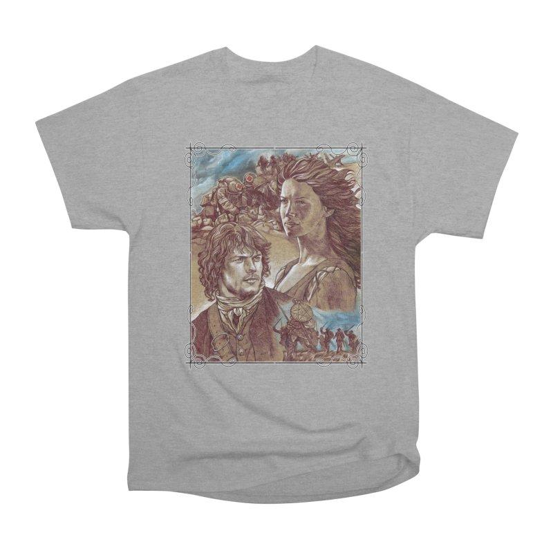 Outlander Women's Heavyweight Unisex T-Shirt by Ben Mirabelli