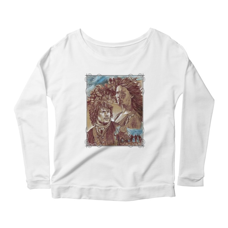 Outlander Women's Scoop Neck Longsleeve T-Shirt by Ben Mirabelli