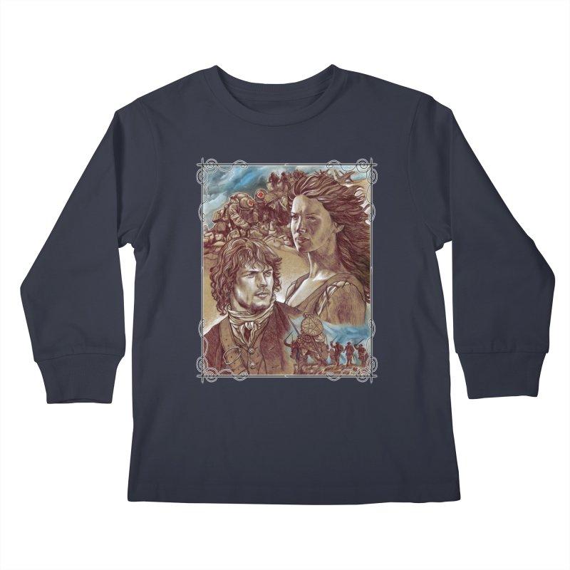 Outlander Kids Longsleeve T-Shirt by Ben Mirabelli