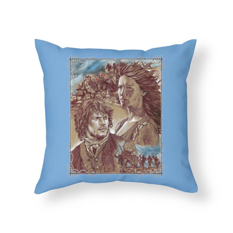 Outlander Home Throw Pillow by Ben Mirabelli