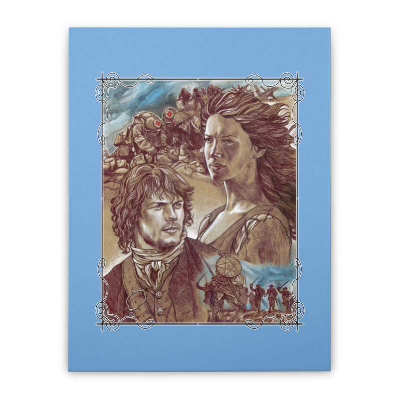 Outlander Home Stretched Canvas by Ben Mirabelli