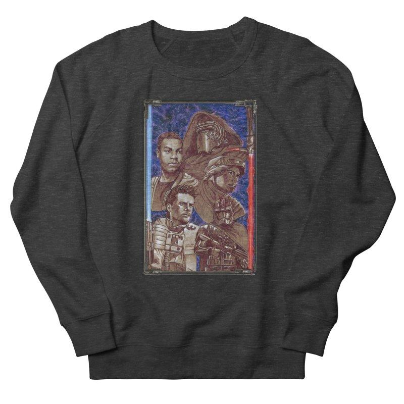 The Force Awakens Women's French Terry Sweatshirt by Ben Mirabelli