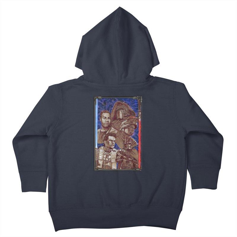 The Force Awakens Kids Toddler Zip-Up Hoody by Ben Mirabelli