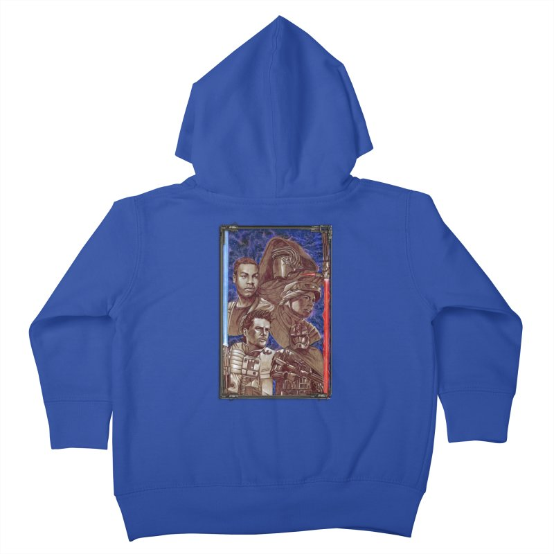 The Force Awakens Kids Toddler Zip-Up Hoody by Ben Mirabelli