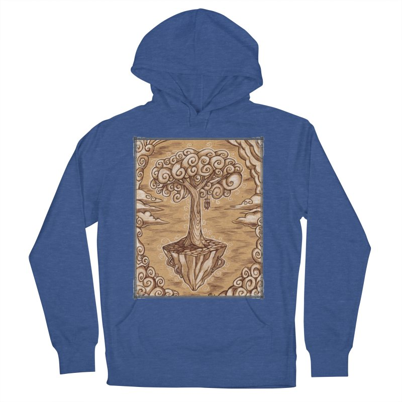 Air Tree Women's French Terry Pullover Hoody by Ben Mirabelli