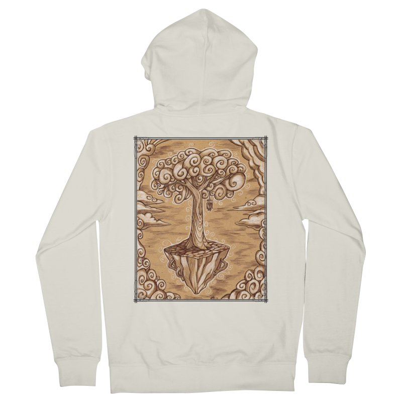 Air Tree Men's French Terry Zip-Up Hoody by Ben Mirabelli