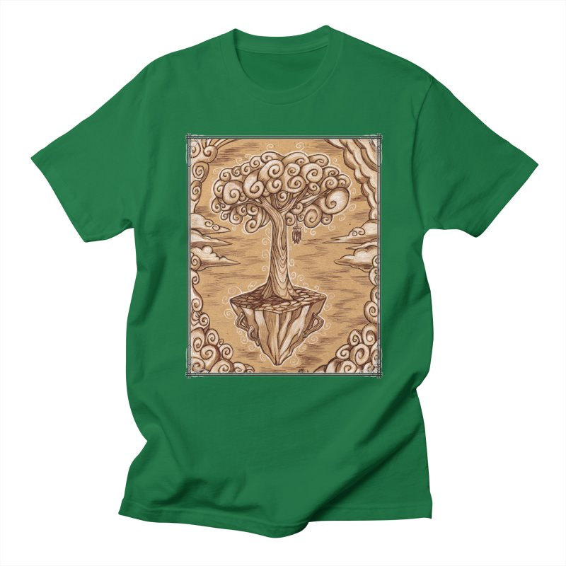 Air Tree Men's Regular T-Shirt by Ben Mirabelli