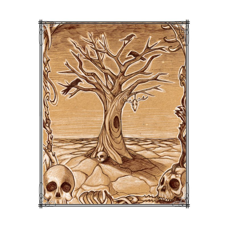 Elemental Tree of Death by mirabellistudios's Artist Shop