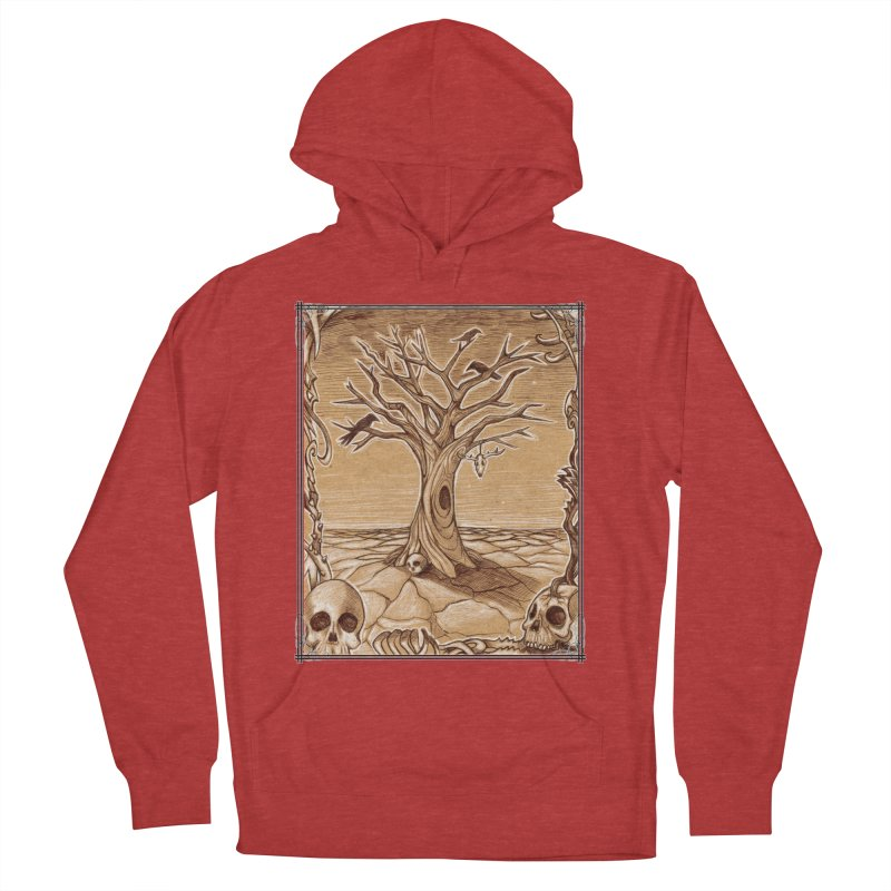 Elemental Tree of Death Women's French Terry Pullover Hoody by Ben Mirabelli