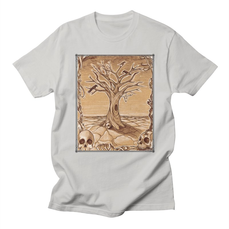 Elemental Tree of Death Men's Regular T-Shirt by Ben Mirabelli