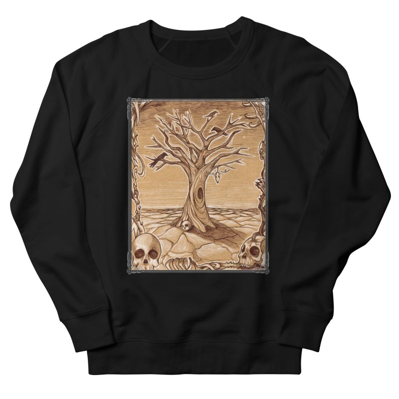 Elemental Tree of Death Women's French Terry Sweatshirt by Ben Mirabelli