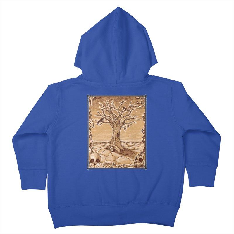 Elemental Tree of Death Kids Toddler Zip-Up Hoody by Ben Mirabelli