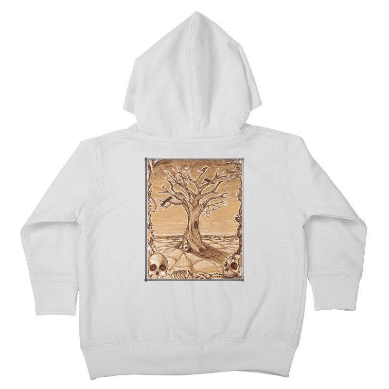 Elemental Tree of Death Kids Toddler Zip-Up Hoody by Ben Mirabelli