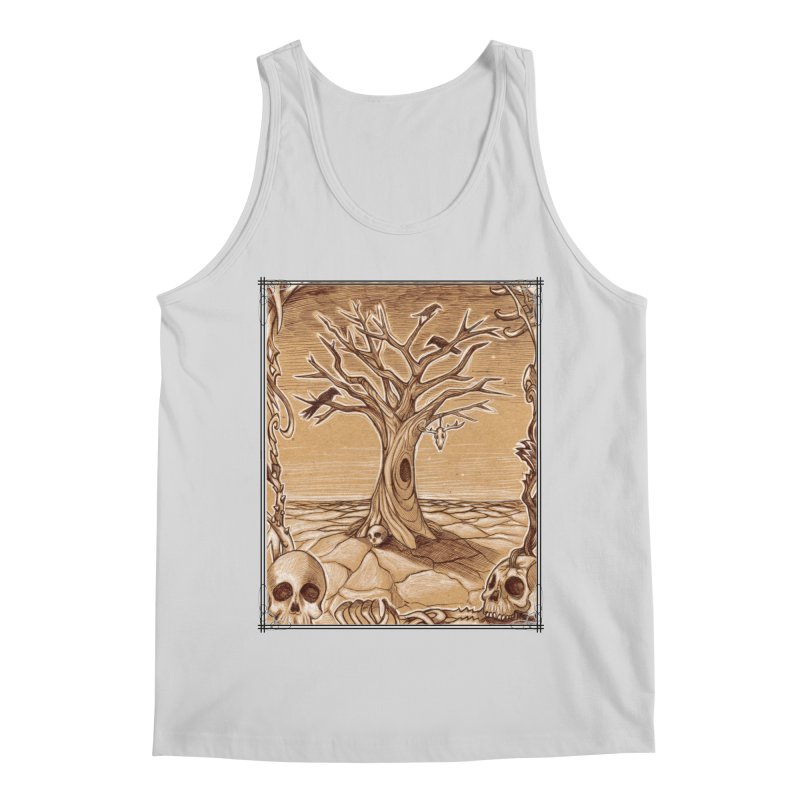 Elemental Tree of Death Men's Regular Tank by Ben Mirabelli