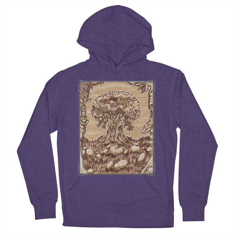 Earth Tree Women's French Terry Pullover Hoody by Ben Mirabelli