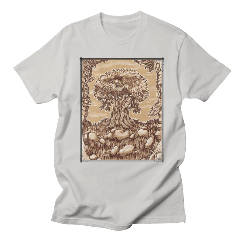 Earth Tree Men's Regular T-Shirt by Ben Mirabelli