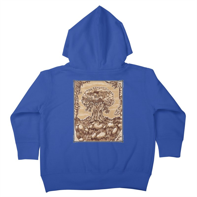 Earth Tree Kids Toddler Zip-Up Hoody by Ben Mirabelli
