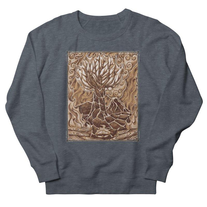 Fire Tree Women's French Terry Sweatshirt by Ben Mirabelli