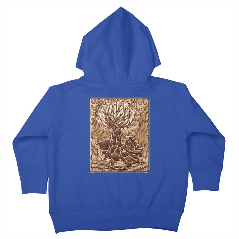 Fire Tree Kids Toddler Zip-Up Hoody by Ben Mirabelli