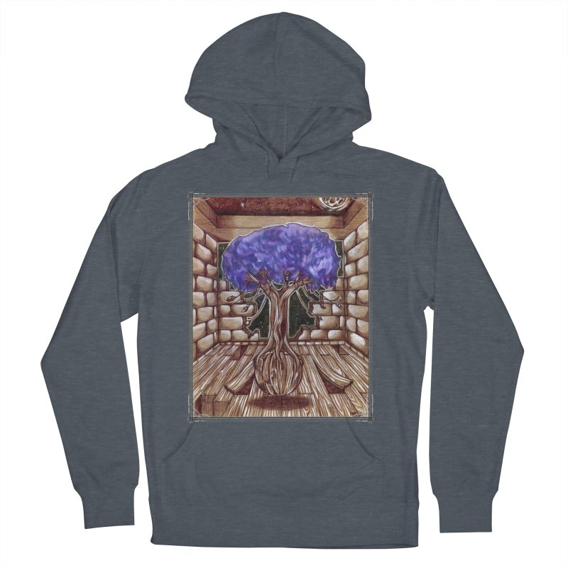 Purple Tree Women's French Terry Pullover Hoody by Ben Mirabelli