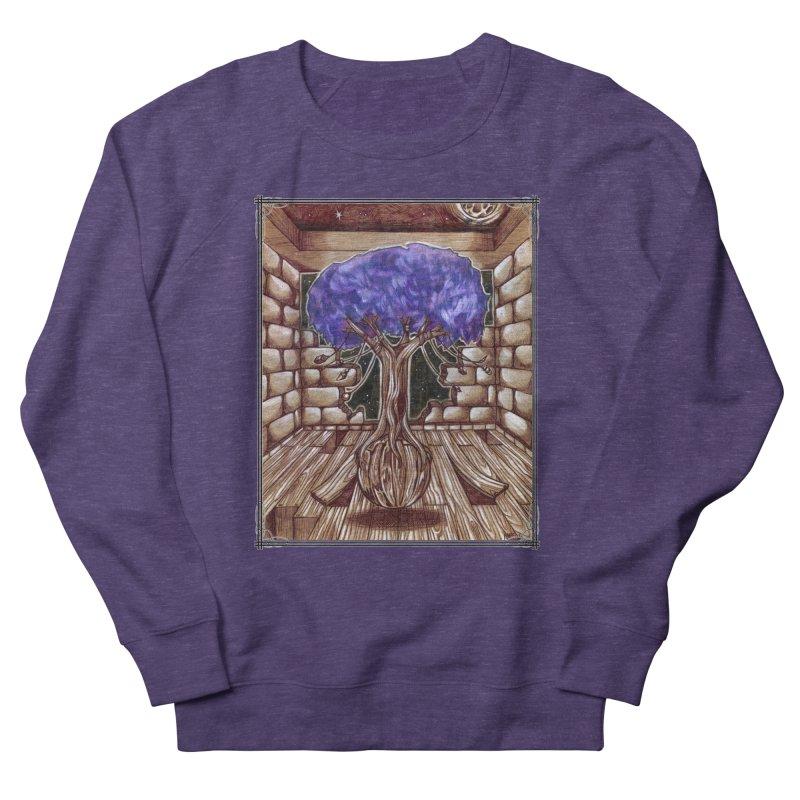 Purple Tree Women's French Terry Sweatshirt by Ben Mirabelli
